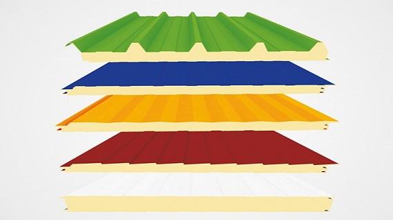 ساندویچ پانل سقفی sandwichpanel